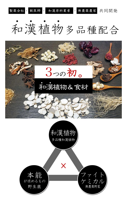 和漢レシピ 和漢多品種和漢茸 野生の熟成鹿肉 マクロビオティック無農薬発酵素材